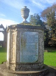 Boatswain's Monument 30m north-east of Newstead Abbey