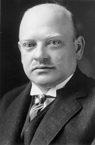 Gustav Stresemann, German Chancellor in 1923 and Nobel Peace Prize laureate in 1926