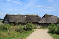 Reconstructed town houses from Haithabu (now in Germany)