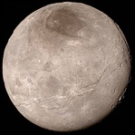 New Horizons image of Charon (2015)