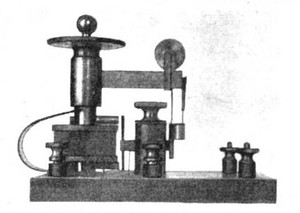 Picture of Fessenden's barretter and diagram showing parts
