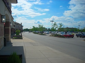The Gurnee Town Centre, a shopping district in West Gurnee