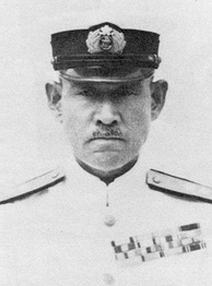 Shigeyoshi Inoue, commander of the Fourth Fleet of the Imperial Japanese Navy
