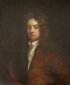 A painting of John Hervey after Godfrey Kneller