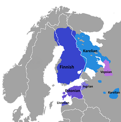 The Finnic languages in Northern Europe