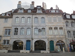 The birthplace of Victor Hugo in Besançon