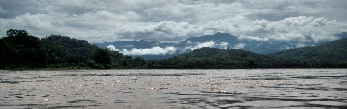 Mekong River in Laos