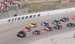 NASCAR racing at Texas Motor Speedway