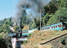 The Nilgiri Mountain Railway, an UNESCO World Heritage Site