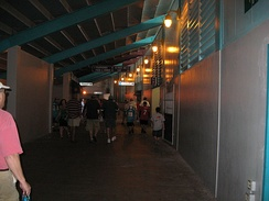 Walkway of the Orange Bowl