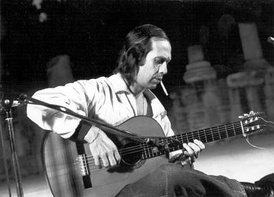 Paco de Lucía, one of the most commercially successful exponents of flamenco (Koster 2002, 5)