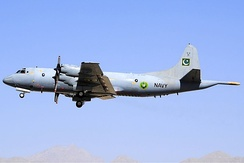 A Pakistan Navy P-3C Orion in Quetta, in October 2010