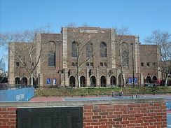 Exterior of the Palestra