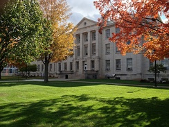 Parker Hall, home to Millard Fillmore College[54]