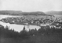 Placentia at the beginning of the 20th century.