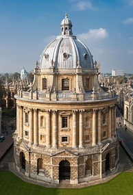 The Radcliffe Camera, completed in 1748