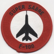 RDAF F-100 Super Sabre patch