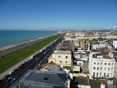 Sea front view of Hove from top of building in Brighton - geograph.org.uk - 1504722.jpg