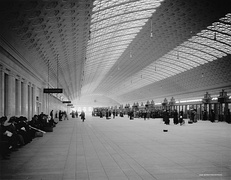 Train concourse, circa 1915
