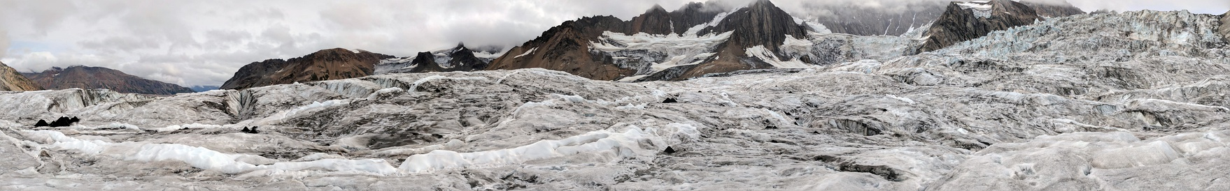 Panorama of Trimble Glacier