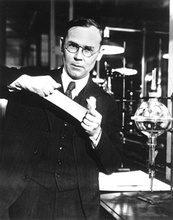 Wallace Carothers, inventor of nylon.