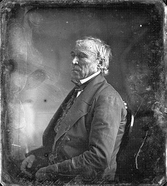 Daguerreotype of Taylor at the White House by Mathew Brady, 1849