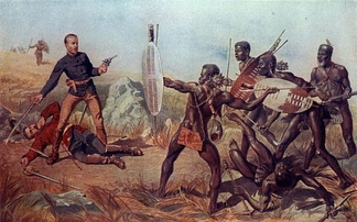 Shaka dismissed firearms as ineffective against the quick encirclements of charging spearmen. Though it ultimately failed against more modern rifle and artillery fire in 1879, this practice proved partially successful at Isandlwana.