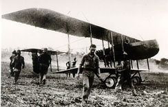 Portuguese Farman F.40 in Mozambique, during the East African Campaign of World War I
