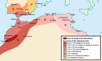 The Almohad Empire, a Berber empire that lasted from 1121 to 1269