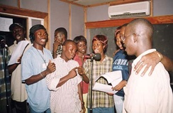 Voice actors in the Sierra Leonean radio soap opera Atunda Ayenda, 2004