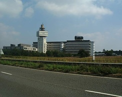 The Adastral Park campus at Martlesham Heath in Suffolk, the principal site of BT Research.