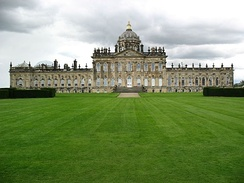 "Castle Howard, in Yorkshire, was used to represent ""Brideshead"" in the 1982 television series and in a subsequent 2008 film."