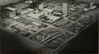 1963 campus model and the circle interchange