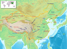The North China Plain is the area surrounding the lower Yellow River and its tributaries, as well as the empty steppe to the north.