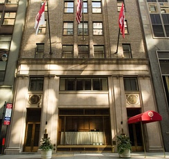 The Cornell Club in New York City is a focal point for alumni.