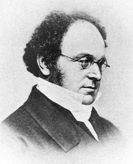 "Augustus De Morgan (1806-1871) was the first to use ""quantifier"" in the modern sense."