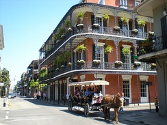 French Quarter in 2009