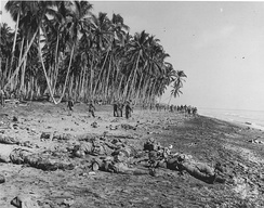 IJA soldiers after a suicide charge on US Marine positions in Guadalcanal