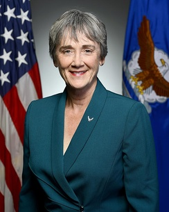 Wilson's first Secretary of the Air Force portrait, 2017