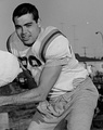 Joe Kapp, is a member of the Canadian Football Hall of Fame, the B.C. Sports Hall of Fame, the BC Lions Wall of Fame, the College Football Hall of Fame.  He is the only player to quarterback in the Super Bowl, Rose Bowl, and the Grey Cup.