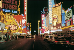 Fremont Street in the late 1960s