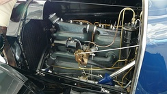 1914 Chevrolet Light Six Engine Compartment
