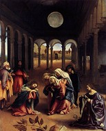 Lorenzo Lotto, Christ Taking Leave of His Mother