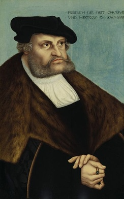 Frederick III, Elector of Saxony protected Luther from the manhunt