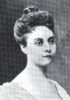 Depew's second wife, May Palmer
