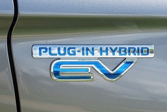 Plug-in Hybrid EV badge