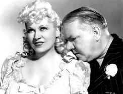 Publicity photo with W. C. Fields for My Little Chickadee (1940)