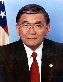 Norman Mineta, official portrait, DOT.jpg