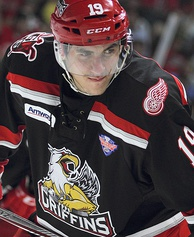 Tomáš Nosek (pictured here with Grand Rapids) scored two goals, including the game-winner, in Game 1.
