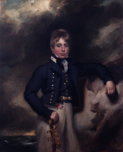 Portrait of Midshipman John Windham Dalling (c 1800)